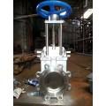 耐磨刀型闸阀、电动刀闸阀、耐磨矿浆专用闸板阀2