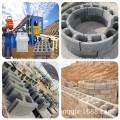奇工5-15市政雨污水窨井墙体模块设备?#19981;?#24418;检查井砌块砖机