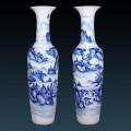 陶瓷工藝品擺件,禮品青花瓷大花瓶