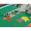幼儿园彩色塑胶地板,南京EPDM塑胶地坪施工厂家
