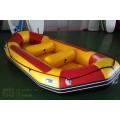 拉筋底5人漂流艇,加厚充气艇,耐磨漂流船,橡皮艇厂家直销