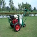 热卖手推起草皮机绿化机械 进口本田起草皮机可调节