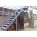 天津武清区钢结构楼梯安装制作户外消防楼梯钢架梯制作