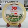 维和部队退役纪念品 70周年部队赠送退役士兵留念 奖牌供应