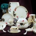 房地產開盤禮品餐具 56頭陶瓷餐具套裝雞缸圖