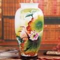 名師手繪花瓶擺件 景德鎮陶瓷器花瓶收藏品