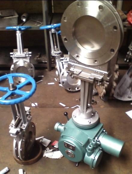 PZ973W-10NR电动高温排渣阀、电动高温灰闸阀