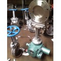 PZ973W-10NR電動高溫排渣閥、電動高溫灰閘閥