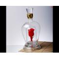 耐高温玻璃工艺酒瓶定制高硼硅玻璃空酒瓶生产厂家