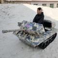 冰雪游乐设备 油电雪地坦克车 新能源雪地坦克车续航时间长