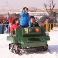 山东冰雪游乐设备 油电雪地坦克车 续航时间长新能源雪地坦克车