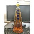 迪拜塔造型工藝酒瓶哈利法塔造型威士忌酒瓶xo朗姆酒手工瓶子