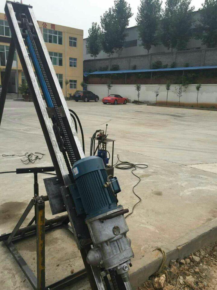 岩石电钻探水钻机 爆破岩石工具