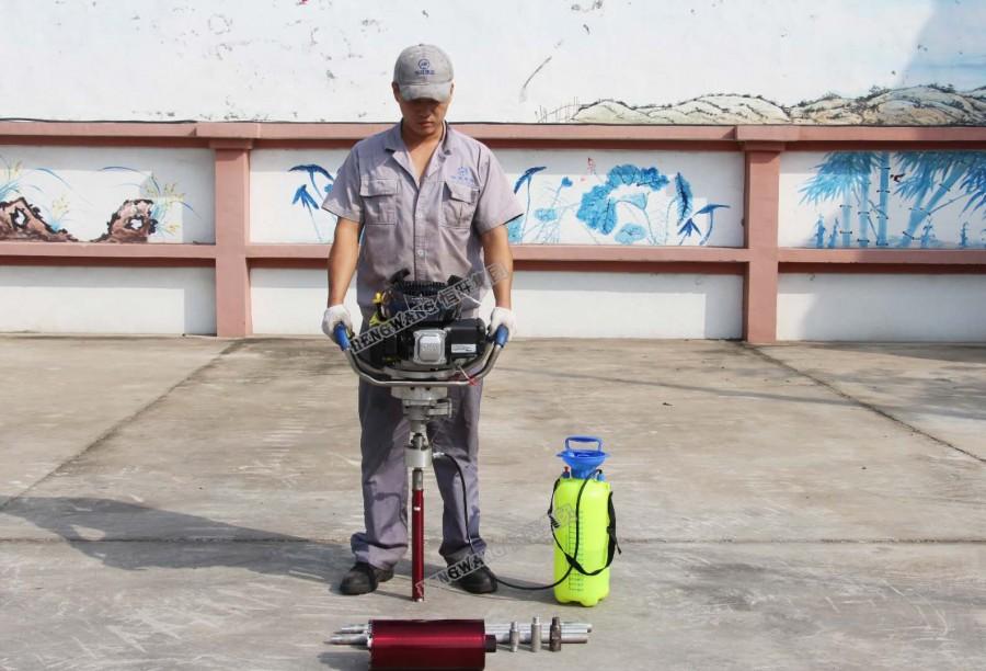 背包钻机厂家 便携式取芯钻机青青影院 小型地质勘探钻机