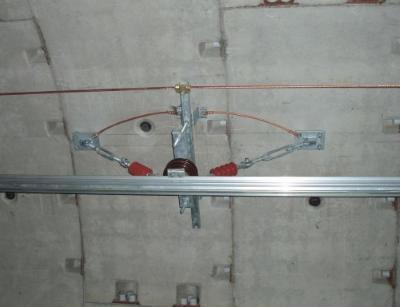 跳线卡箍JL328(Φ96)-89 接地跳线LJ-70