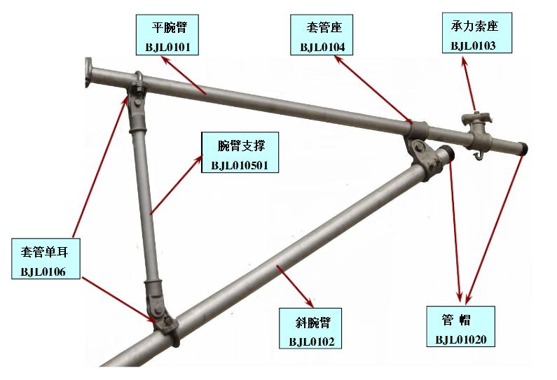 长定位立柱JL82(1.5)-89