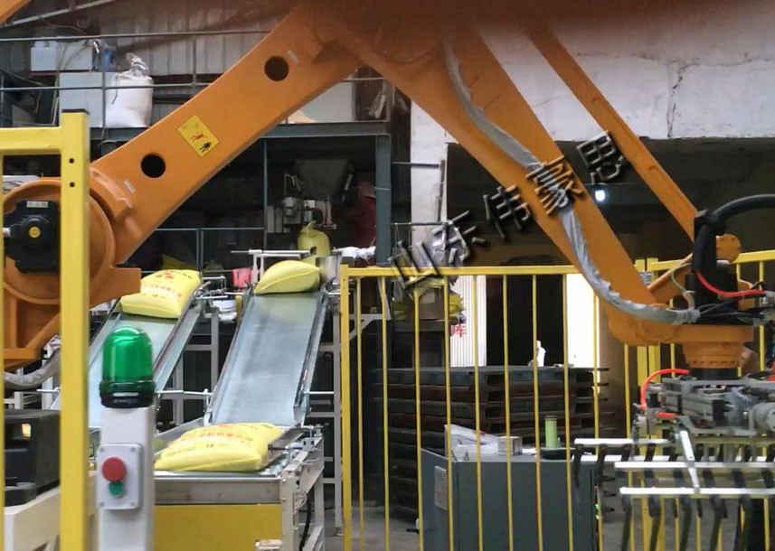 供应铁粉拆垛装车机器人 全自动装车装车机