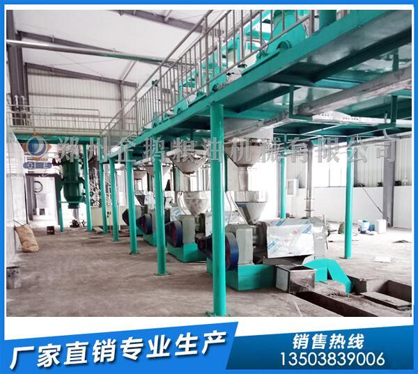 红花籽油生产线,企鹅油脂设备品质为先gk11