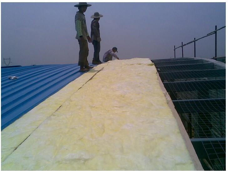 靖安县工厂厂房隔热玻璃棉卷材