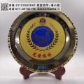 單位老職工退休紀念牌 無錫警員光榮退休禮品 供應員工表彰獎牌