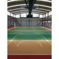 廣西橫縣籃球場鋪裝籃球場價格塑膠籃球場丙烯酸球場