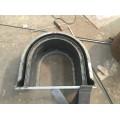 張家界公路排水U型流水槽模具推薦保定京偉流水槽鋼模板廠家
