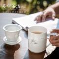 定做廣告會議茶杯,公司年終高檔辦公茶杯