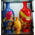 酒瓶、花瓶、烛台水性玻璃陶瓷烤漆