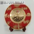 警察學院退休紀念牌 純銅紀念盤供應廠家 從警光輝紀念