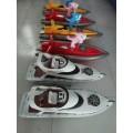 秋冬季暢銷水上游樂設備方向盤兒童遙控船價格