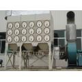 50筒斜插式濾筒除塵器可手動可自動