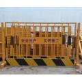 深圳清水河施工安全護欄 東莞基坑鐵馬護欄 防撞圍擋廠家