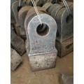 高铬双金属制砂机耐磨锤头高锰钢铸造锤头河北神鹏厂家直销
