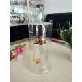 高硼硅玻璃工艺白酒瓶生产厂家定制异形耐高温酒瓶