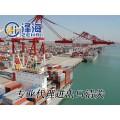 南沙港化工品危险品进口报关备案代理