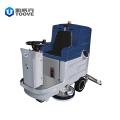 全自动驾驶式洗地机 工厂车间物业保洁停车场洗地车 普力拓