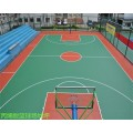 柳州三江加工厂室外丙烯酸篮球场地坪价格